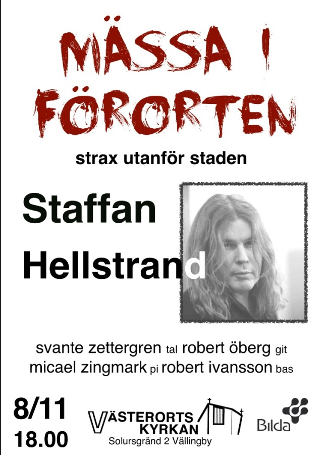 Staffan Hellstrand på Mässa i Förorten